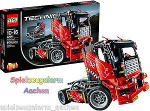 lego 42041 technic renn truck rennwagen 2in1 modell race le camion de course ovp ebay. Black Bedroom Furniture Sets. Home Design Ideas