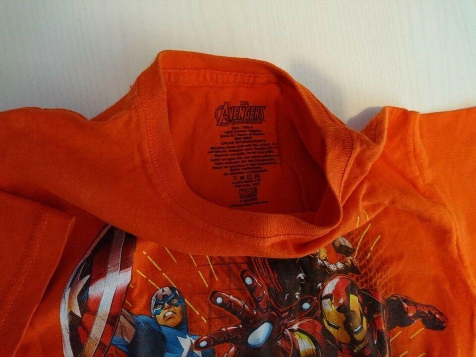 T-shirt, Kortærmet T-shirt med motiv, Marvel Avengers