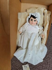Marjorie Spangler Porcelain Baby Doll Lisa 1979 with Box Tag Baby Girl