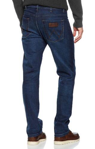 Pour Hommes Jeans Neuf Break Bleu Stretch Arizona Wrangler Comfy Coupe Standard EHp5Sqwwx