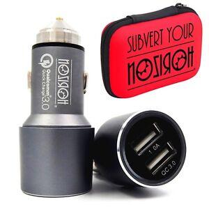 Ladegeraet-Auto-USB-Doppelzimmer-fuer-Samsung-galaxy-S9-S8-Note-8-IPHONE-X-8-7