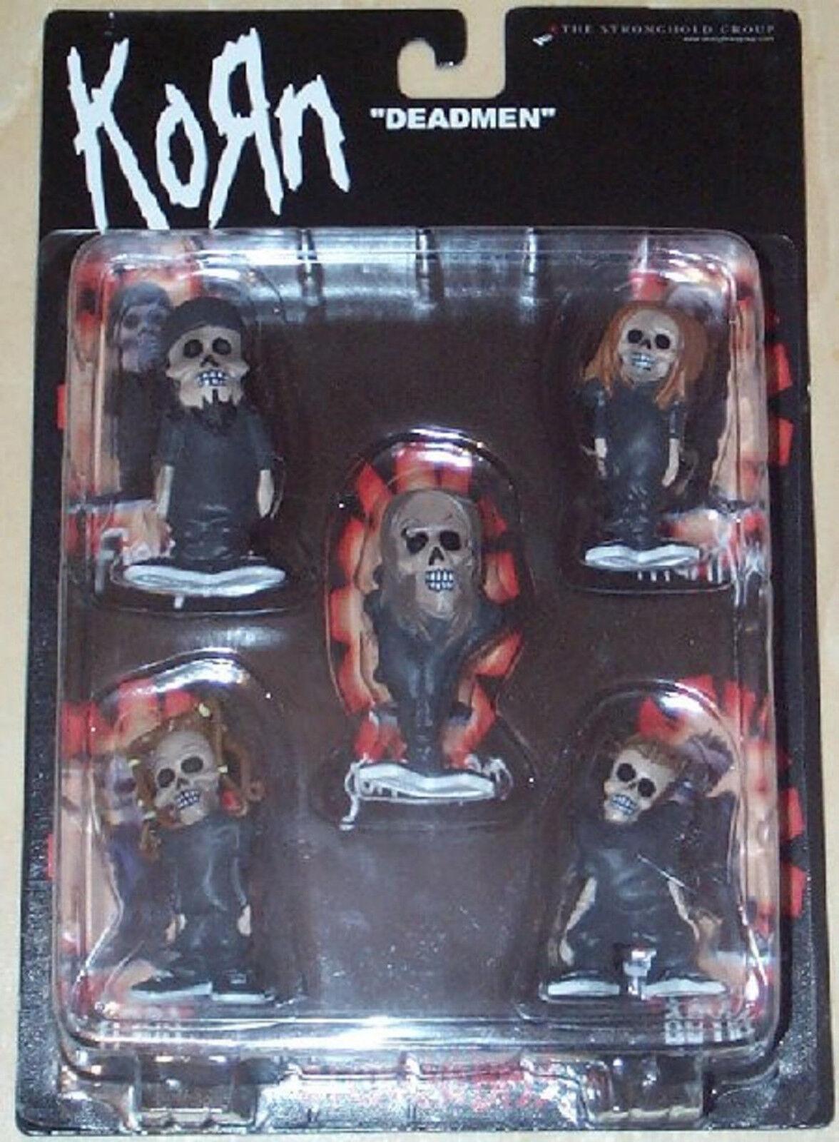 Korn Deadmen Mini Figura De Acción conjunto 5 Ozzy Iron Maiden Metal STRONGHOLD