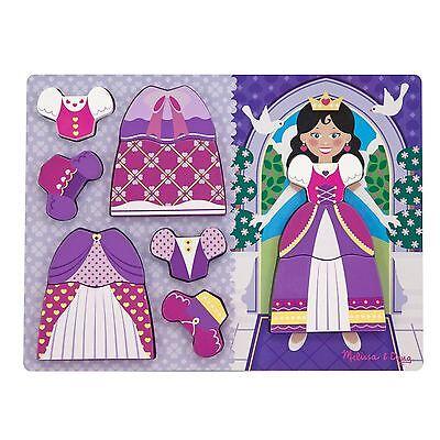 Melissa & Doug Princess Dress-Up Chunky Puzzle