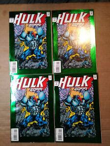 Hulk-2099-1-4-copies-Hulk-vs-Wolverine-Infinity-War-Todd-McFarlane-Professor