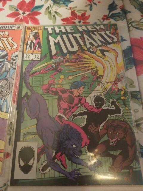 The New Mutants #16(1984) 7.5 VF Marvel Key Issue 1st Warpath  plus free copy #2