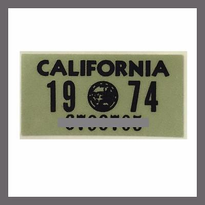 Tag 1970s Plates 1979 California YOM DMV License Plate Registration Sticker