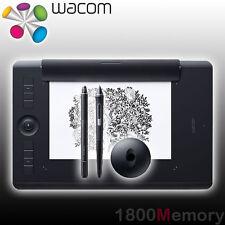 Wacom Intuos Professional Pro Pen 2 Bluetooth Medium Tablet PTH-660 w/ Paper Kit