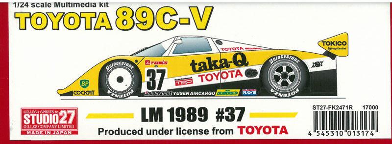 Estudio Estudio Estudio 27 1   24 Jugueteota89c - V taka - q LM 1989 FK - 2471r original japonés 8d4