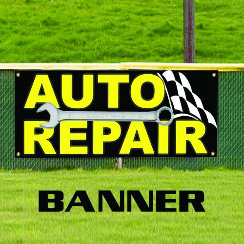 Auto Repair Garage Automobile Workshop Outdoor Vinyl Banner Sign
