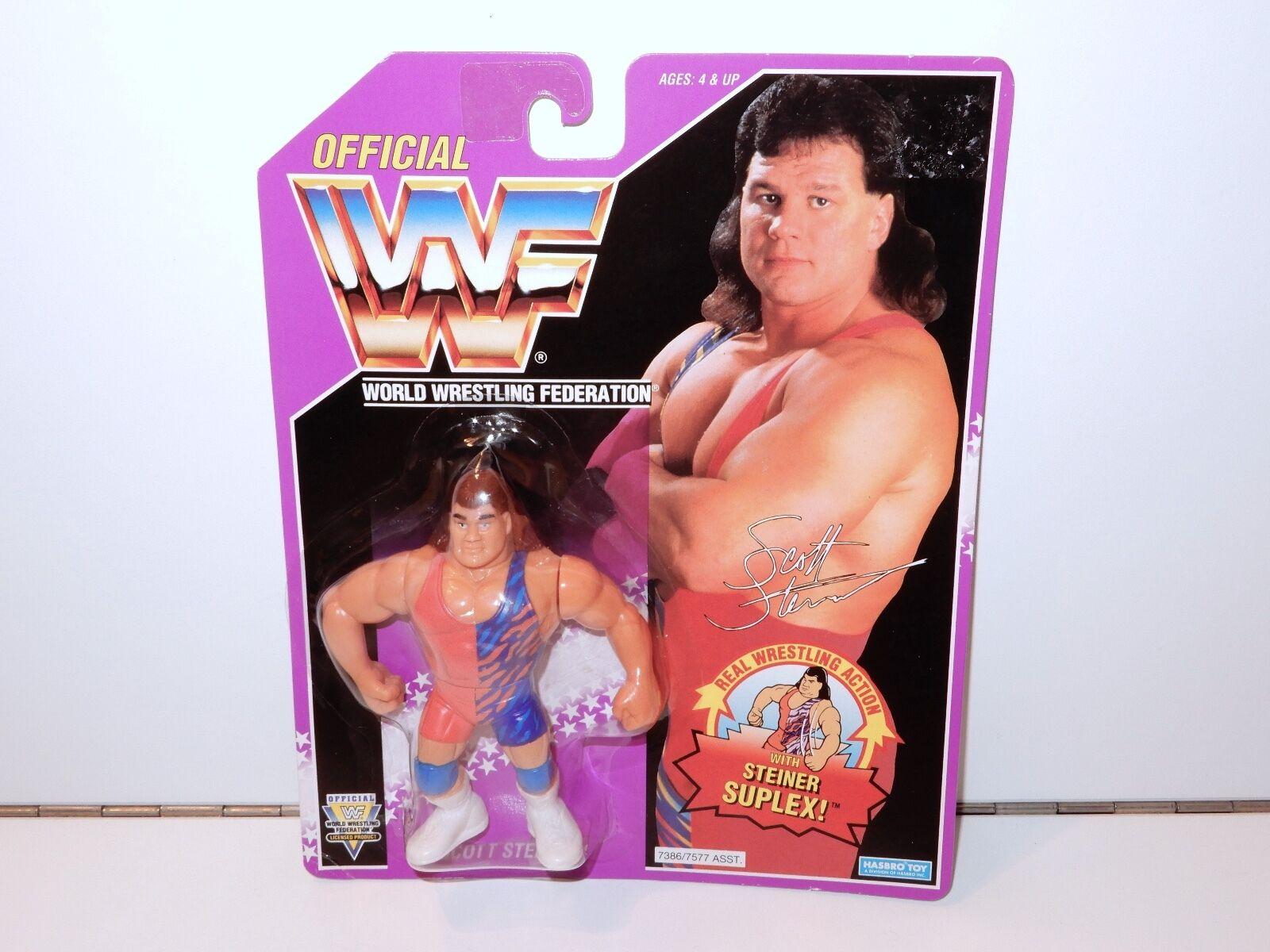 Wwf scott steiner  suplex  wrestling abbildung wichtigste 90er - jahre serie 9 hasbro