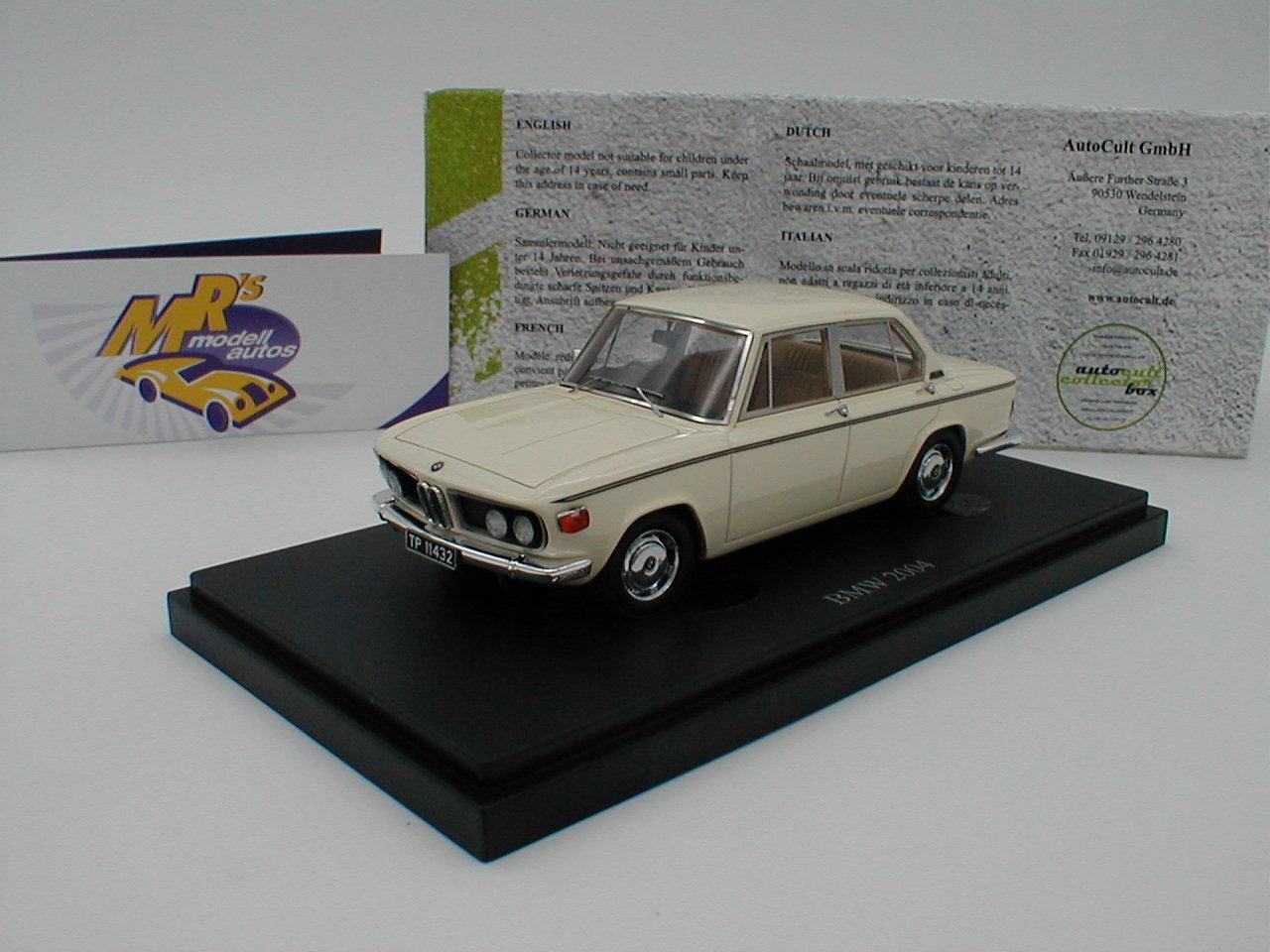 Autocult 05022-BMW 2004 M Limousine Anno di costruzione 1973 in