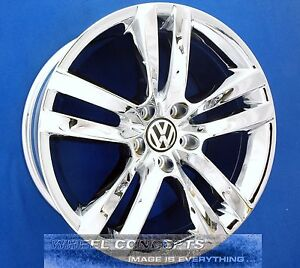 Volkswagen Vw Cc 18 Inch Chrome Wheel Exchange Rims 18