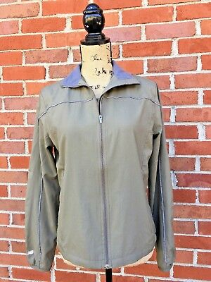 Clothing, Shoes & Accessories Audacious New Balance Windbreaker Long Sleeve Jacket Green Womens Small Active Wear 100% Original Activewear Jackets