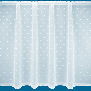 """""""Berlin"""" All Over Design Quality Net Curtain - Free Postage - Sold By The Metre"""