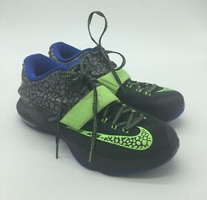 premium selection 94baa 3a99b Nike KD VII 7 Electric Eel Sz 8.5 Mens Basketball Shoes PRE-OWNED ...