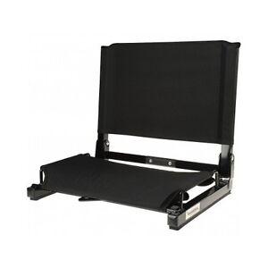 Deluxe Wide Stadium Chair Folding Bleacher Arena Sports