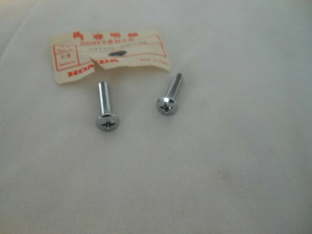 GENUINE Honda NOS 93700-06030 SCREW 6X30 OVAL