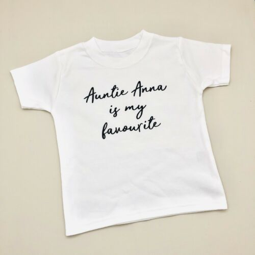 PERSONALISED SLOGAN unisex baby clothing T-shirt Tee baby shower brother sister