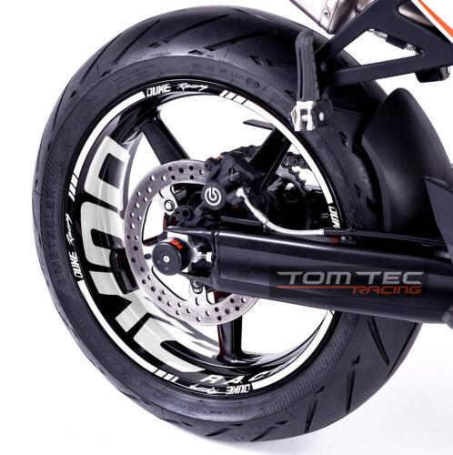 Rim Sticker KTM Superduke 990 R Sm SMR SD 950 Duke III 3 690 Tomtec-Racing