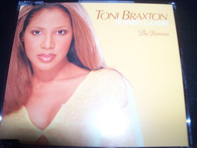 Toni Braxton Spanish Guitar The Remixes (Full Mixes) Australian Maxi CD Single