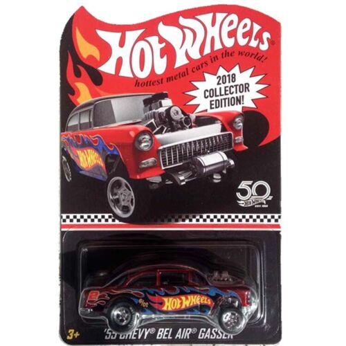 Hot Wheels 2018 Collector Edition '55 Chevy Bel Air Gasser Super Rare