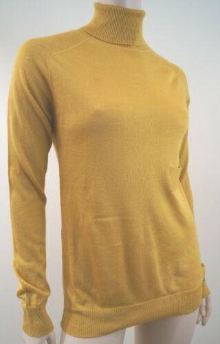Uk10; Length Maglieria Mustard It42 Chloe Top Polo Neck Yellow By See Long fTwqvv