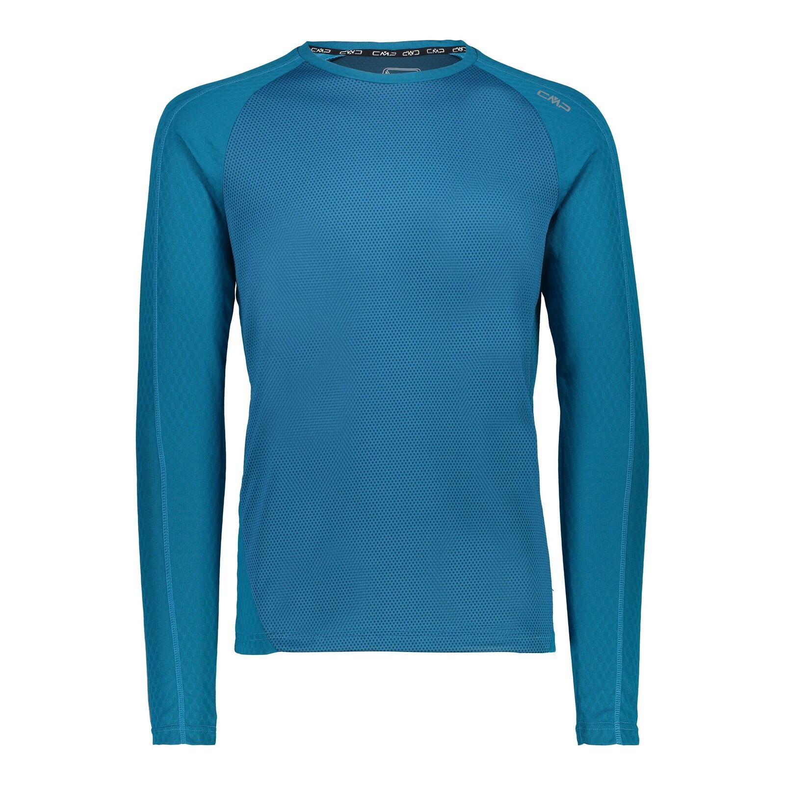CMP Maglietta divertimentozionale Shirt uomo Maglietta blu Traspirante Elastico