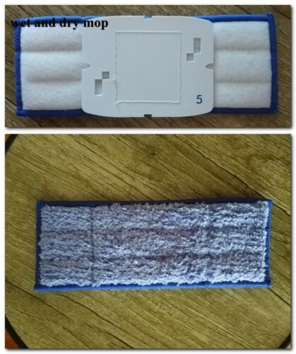 3//5//8//10 Washable Wet Dry Mopping Pads replacement for iRobot Braava Jet 240