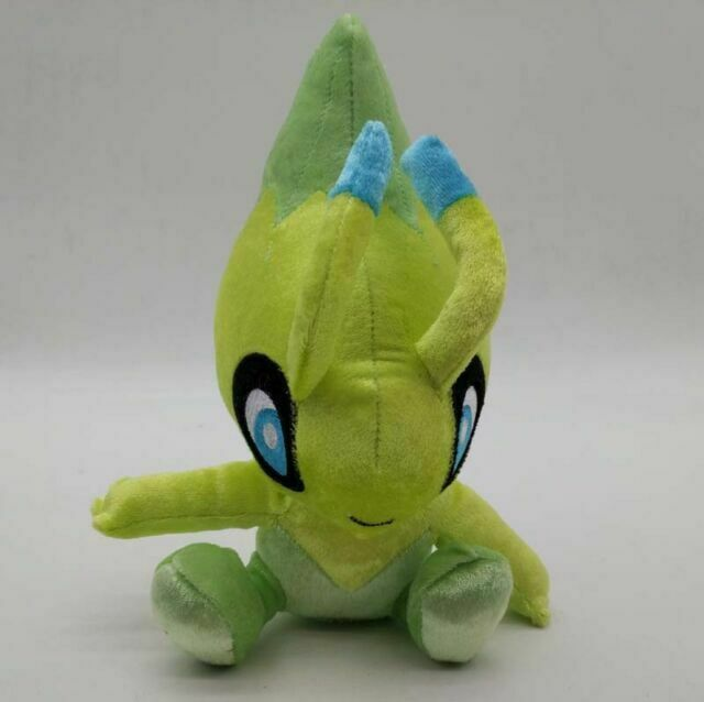 20th Anniversary Edition Gamestop TAKARA TOMY Pokemon Celebi Darkrai Plush Doll