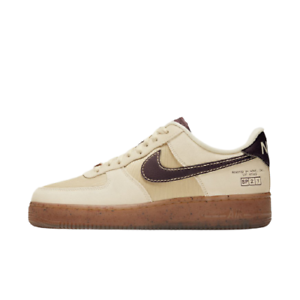 "[Nike] Air Force 1 '07 LV8 ""Coffee"" Shoes Sneakers - Ivory(DD5227-234)"
