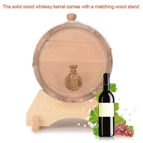 Barrel Wein Whisky Schnaps Eichenfass Holzfass Whiskyfass Weinfass 3 5 10L GD