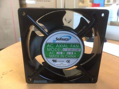 Sofasco AC Axial Fan Motor A12038V2HBT 230V 0.10 Amps