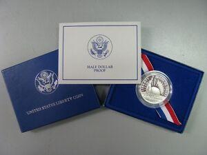 1986-Statue-of-Liberty-Proof-Half-Dollar-Commemorative-Coin-US-Mint