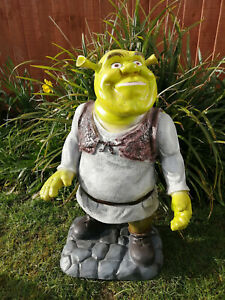 "SHREK RESIN ORNAMENT 24"" HIGH"