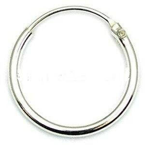 mens sterling silver hoop earrings mens small 925 sterling silver hinged ear hoop sleeper 7285