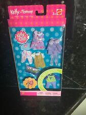 Lot Of BARBIE KELLY Tommy DOLL CLOTHING 5 OUTFITS 3 PAIR SHOES New Club 1