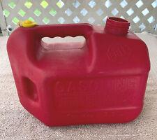 Blitz 1 Gallon 4oz Vented Gas Fuel Can No Spout Usa