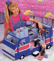 Fashion Doll Barbie Dream Home Camper + Accessories Plastic Canvas Patterns