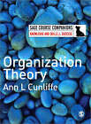 Organization Theory by Ann L. Cunliffe (Paperback, 2008)