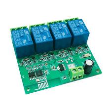 New Listing5v 12v Esp8266 Quad Chip Wifi Relay Internet Of Things Smart Mobile App Control