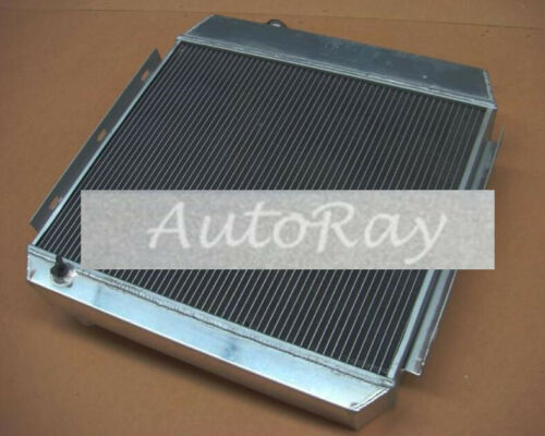 3 Rows Aluminum Radiator for Ford Chevy Bel Air W//Cooler V8 1955-1957 Auto 56