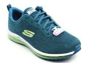Womens Skechers Skech Air Element Cinema Teal Mesh [12644