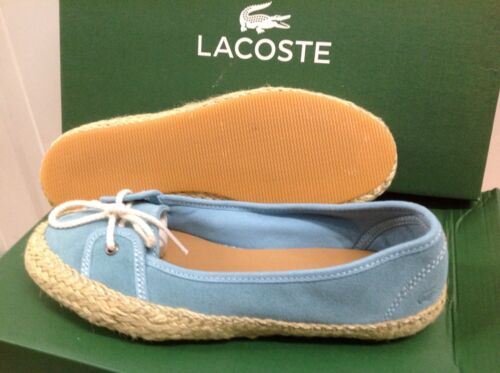 Lacoste ELETA 3 Women/'s Suede Sneakers Plimsolls Casual Shoes Size UK 4 EU 37