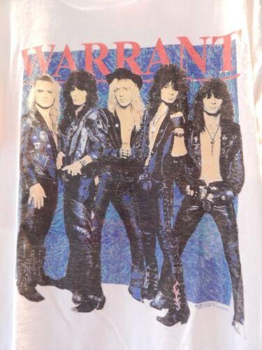 Vintage 1998 Tour Warrant Rock or Fking Die XL X-Large T Shirt Rock Glam Metal