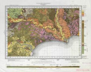 Poole England Map.Bournemouth Geological Survey Sheet 329 Dorset Poole Christchurch