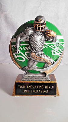 FANTASY FOOTBALL TROPHY AWARD  FOOTBALL TEAM/INDIVIDUAL AWARD - FREE ENGRAVING!!