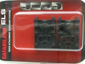 Safariland-ELS-KIT1-2-Black-Equipment-Locking-Kit-w-ELS-35-Plate-amp-ELS-34-Fork