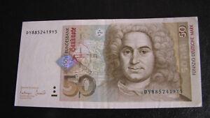 50-Deutsche-Mark-Geldschein-Seriennummer-DY