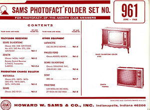 Sams-Photofact-Folder-Set-961-TV-Radio-Phonograph