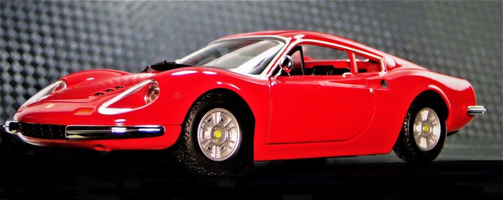 GT Ferrari 1 Vintage Sport Sport Sport Race Car 1960s 24 Metal 43 O 18 Carousel Red 12 F 64 6ed429
